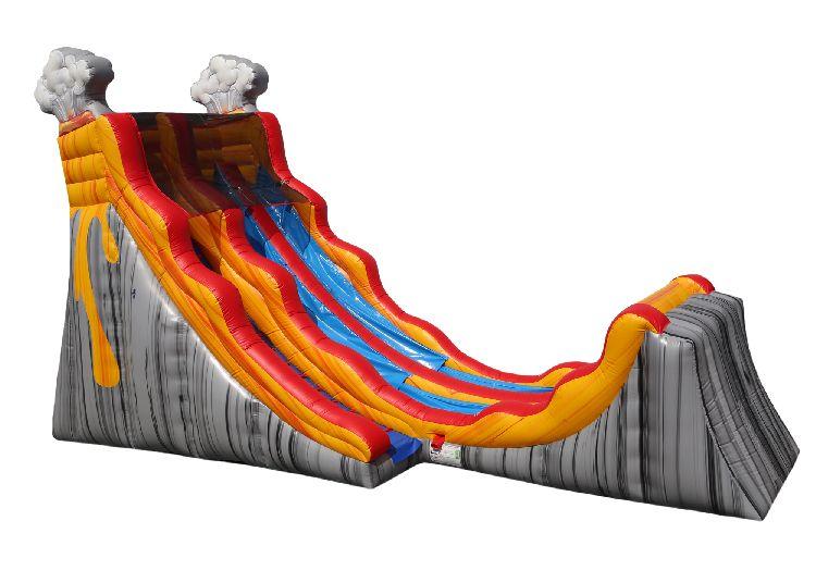 Volcano WET Slide