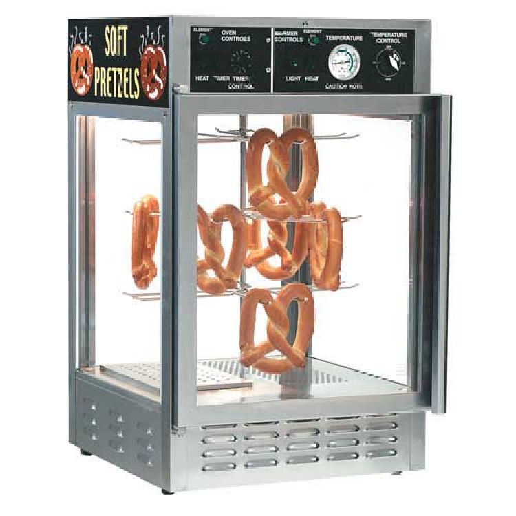 Soft Pretzel Warmer/Display Case