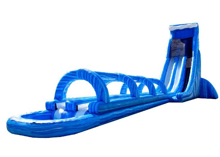 37ft tall Dual Lane WET Slide