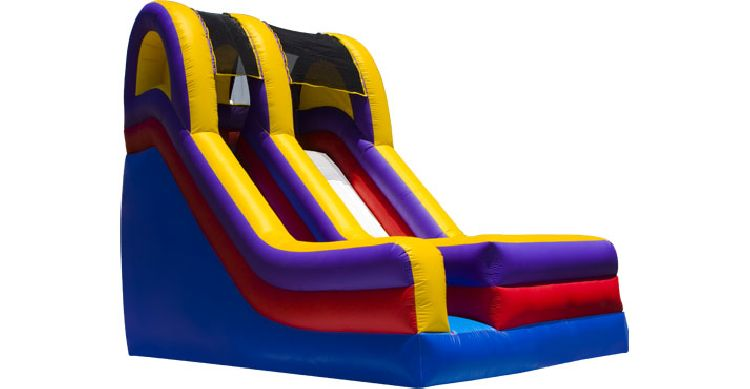 18 foot Single Lane DRY Slide